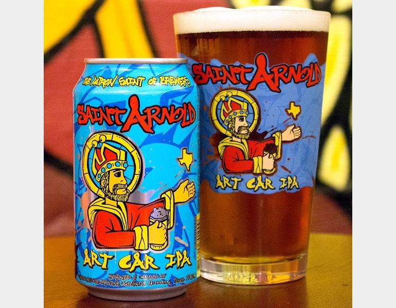 Art Car IPA by Saint Arnold Brewing Co.