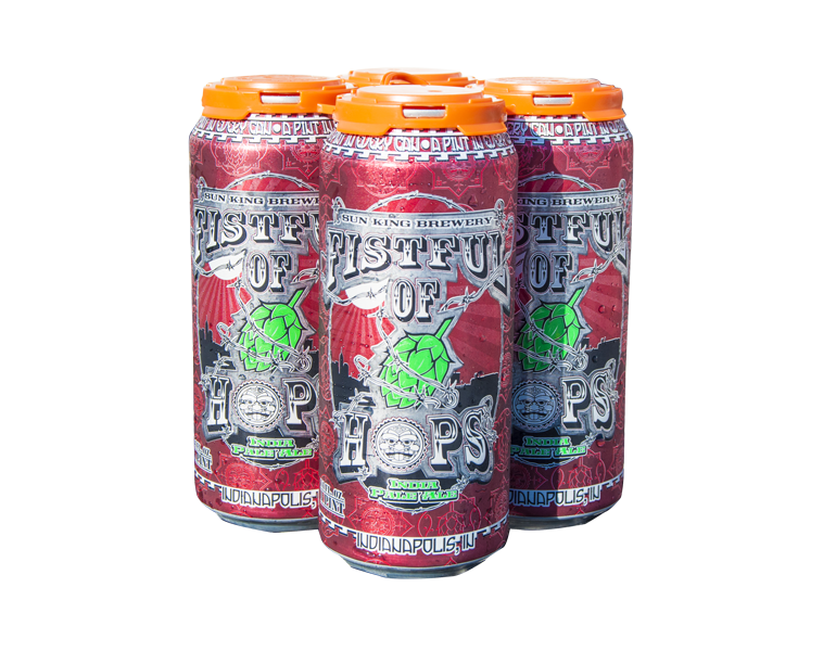 Fistful of Hops Red by Sun King Brewery