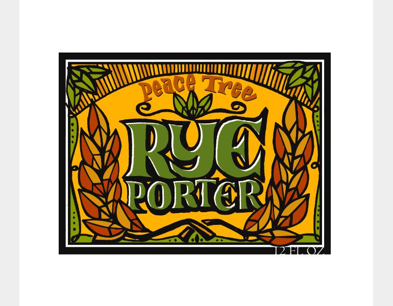 Rye Porter by Peace Tree Brewing Co.