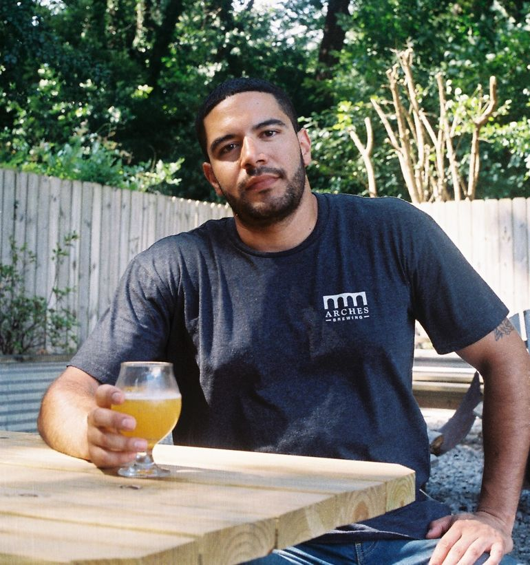 Arches Brewing Head Brewer Justin Ramirez Talks Low Viz IPA