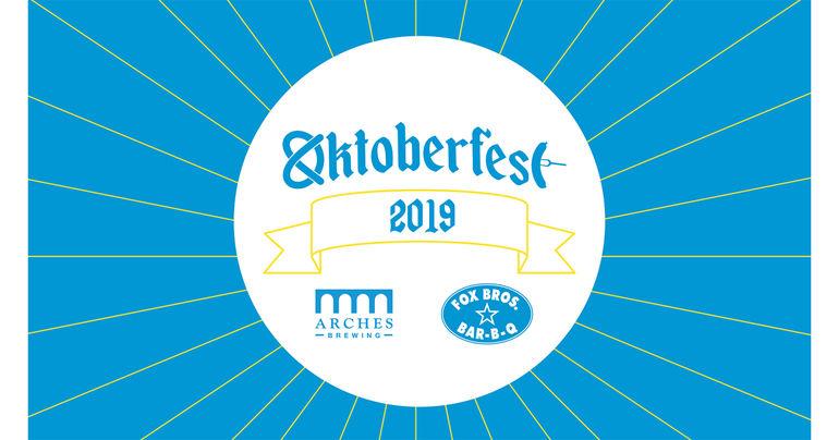 Arches Brewing Oktoberfest 3-Day Celebration Starts September 20