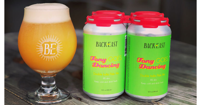 Back East Brewing Announces Final 2019 Release of Tony Goes Dancing and Ice Cream Man