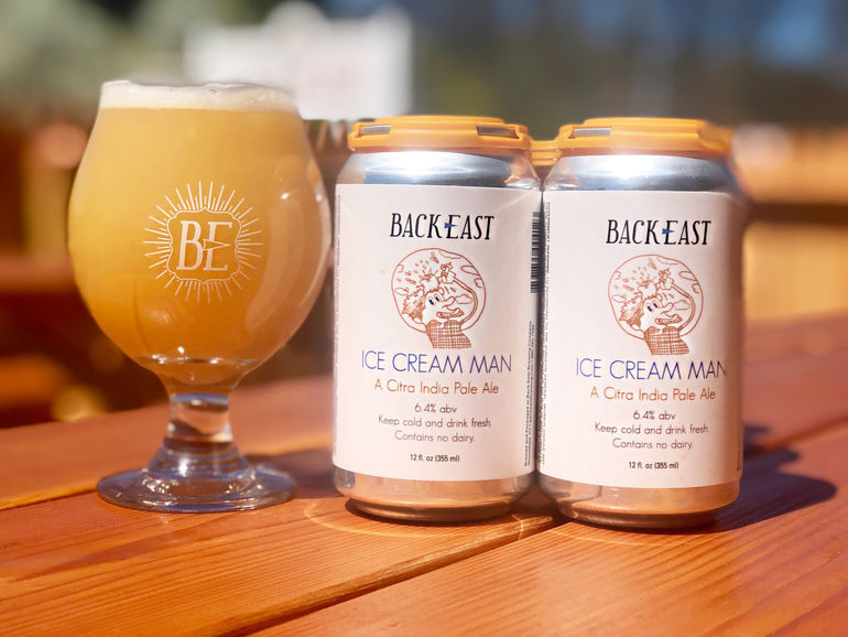 Back East Brewing Co.'s Ice Cream IPA Returns