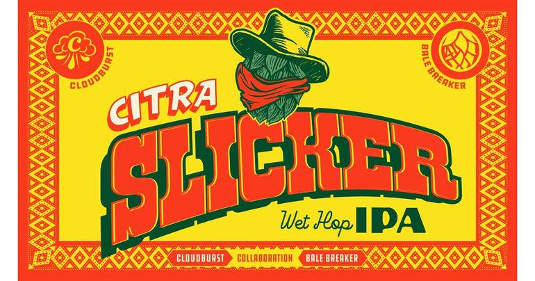 Bale Breaker and Cloudburst Debut Citra Slicker Wet Hop IPA