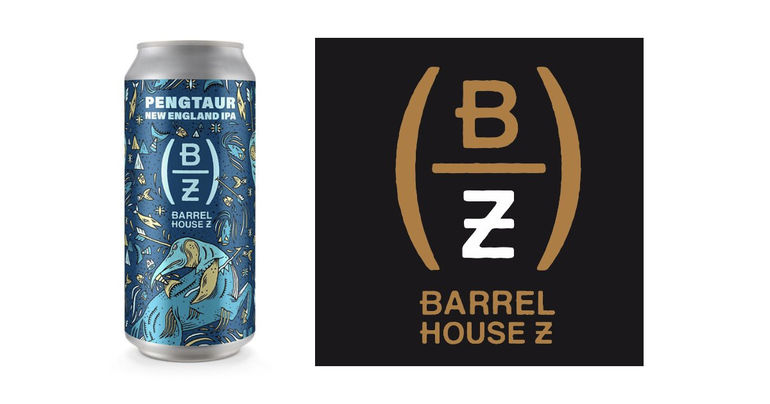 Barrel House Z Releases First Beer in Mythical Creatures Series: Pengtaur New England IPA