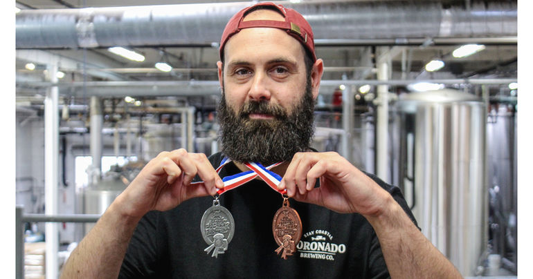 Coronado Brewing Wins Silver and Bronze Medals at the 2019 Great American Beer Festival