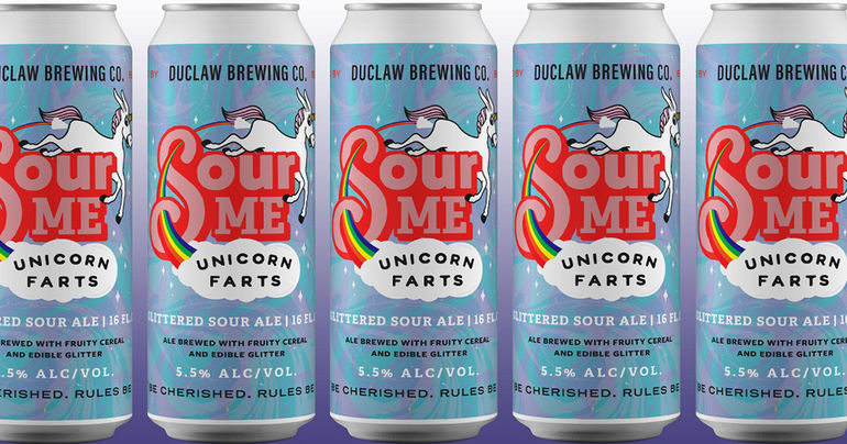 DuClaw Brewing Co. Announces Return of Sour Me Unicorn Farts for Limited Time