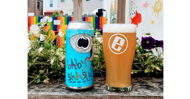 Evil Genius Beer Co. Sinks Teeth Into Shark Week With Its Baby Shark Can Release & Brewery Events