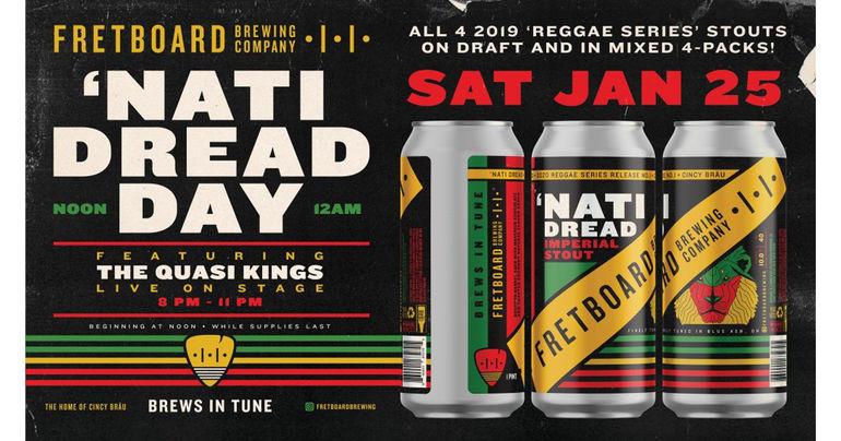 Fretboard Brewing Releases 'Nati Dread as Part of Reggae Series