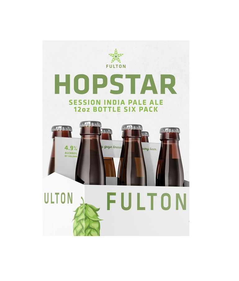 Fulton Brewing Hopstar Session IPA Now Available in Six-Packs