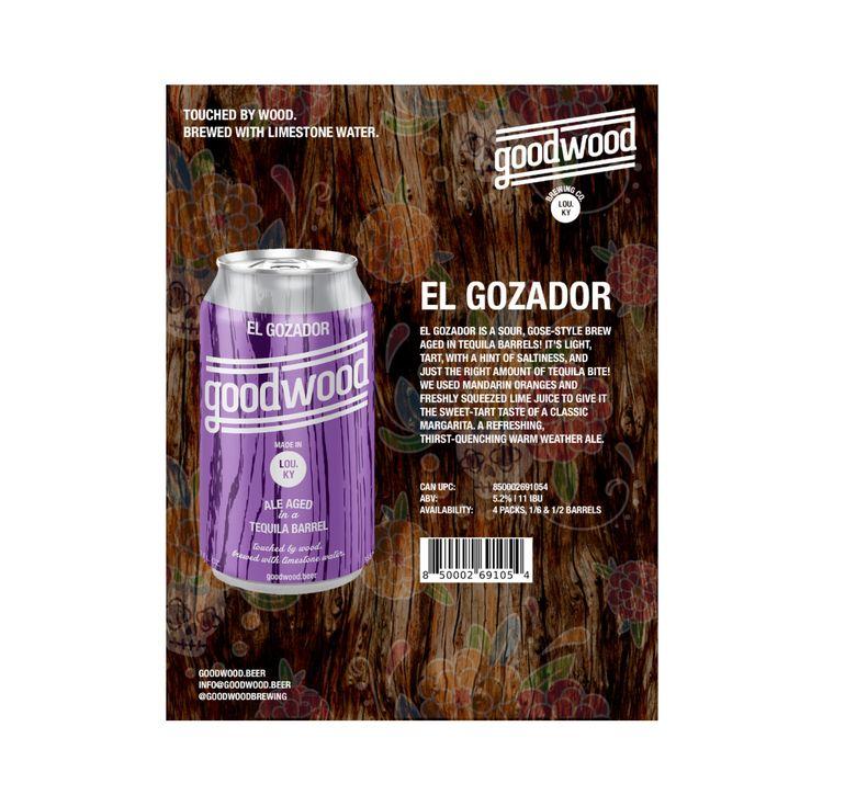 Goodwood Brewing Co. Releases El Gozador, Tequila Barrel Aged Gose