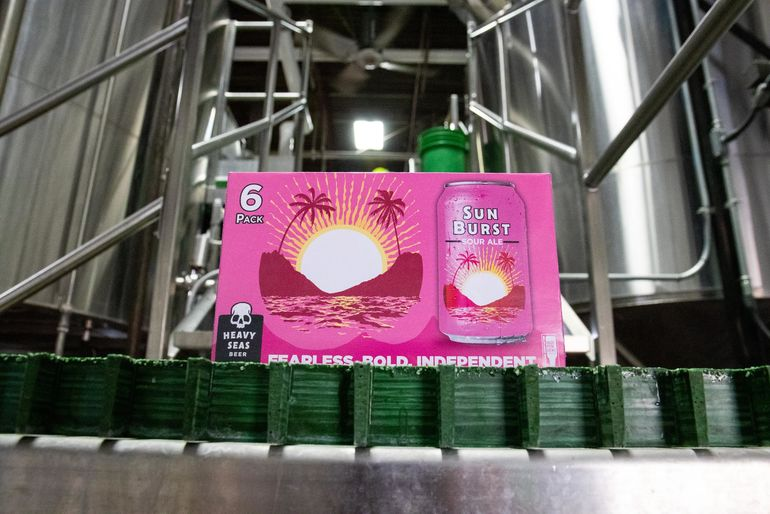 Heavy Seas Sun Burst Sour Ale Seasonal Debuts