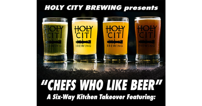 Holy City Brewing Announces 'Chefs Who Like Beer' Kitchen Takeover