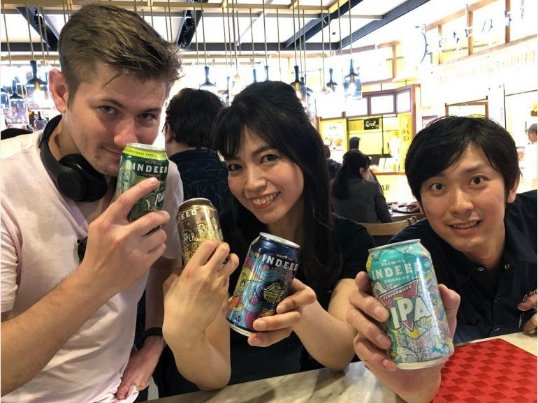 Indeed Brewing Co. Adds International Distribution to Japan