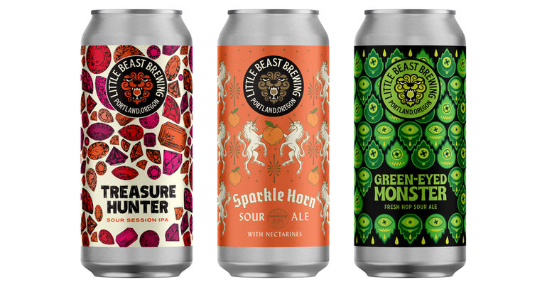 Little Beast Brewing Unveils 4 New Beers, Including 3 Canned Sours