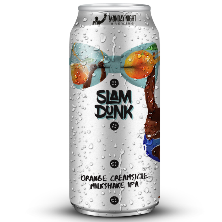 Monday Night Brewing Unveils Slam Dunk Orange Creamsicle Milkshake IPA