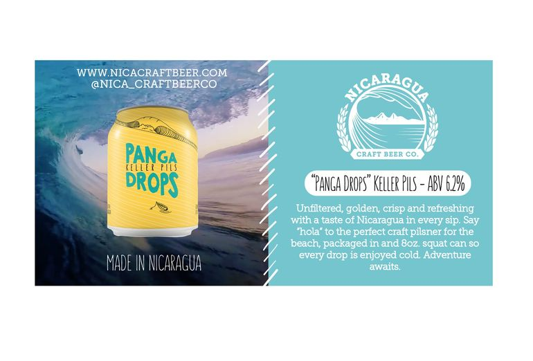 Nicaragua Craft Beer Co. Launches Panga Drops Keller Pils in North America