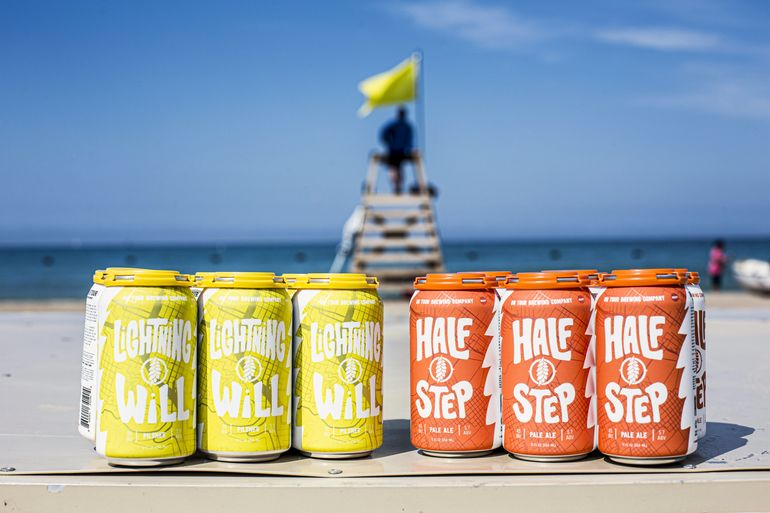 On Tour Brewing Debuts Canned Six-Packs of Lightning Will & Half Step