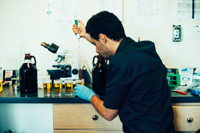 pFriem Family Brewers QC Laboratory Manager Max Kravitz Talks pFriem Golden Coffee Pale