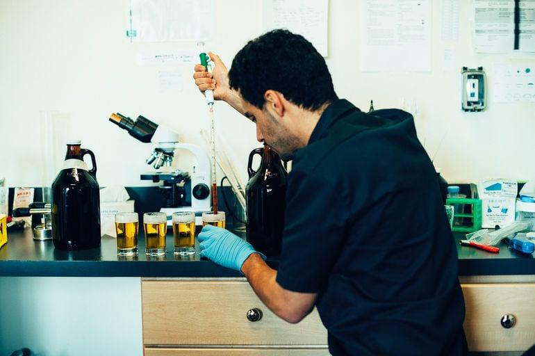 pFriem Family Brewers QC Laboratory Manager Max Kravitz Talks pFriem Golden Coffee Pale