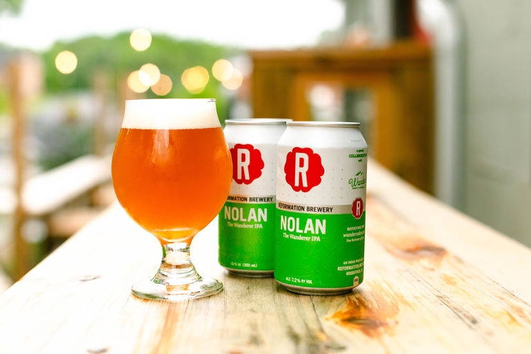 Reformation Brewery Unveils Nolan #005 Juicy Fruit IPA