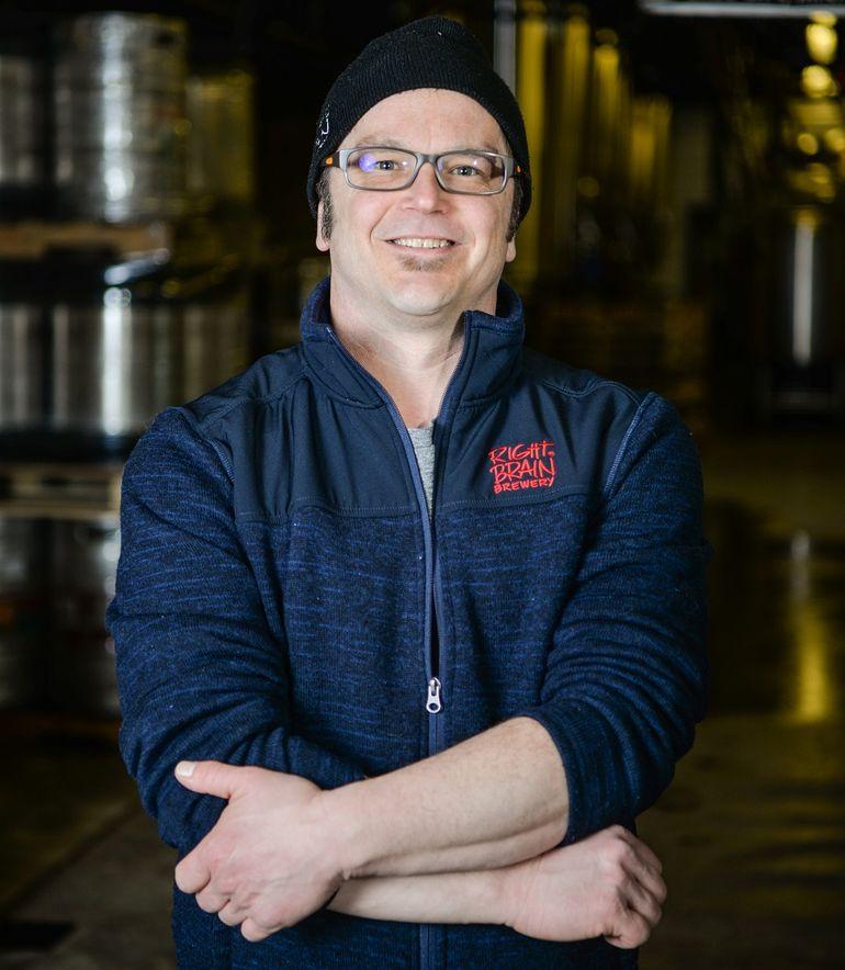 Right Brain Brewery Brewmaster Russell Springsteen Talks Pig Porter