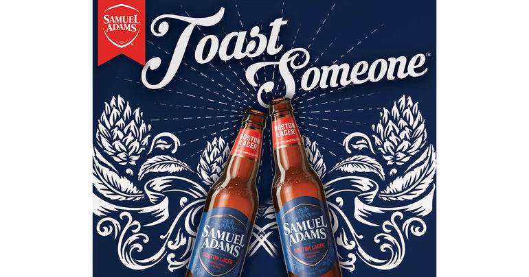 Samuel Adams Asks Americans to Toast Someone, Enlists Top Comedians to Help