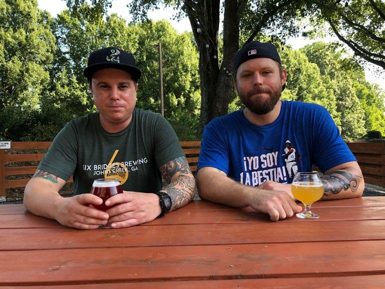 Six Bridges Brewing Head Brewer Alex Ciaburri and Production Manager Bryan Johnson Talk Medlock IPA