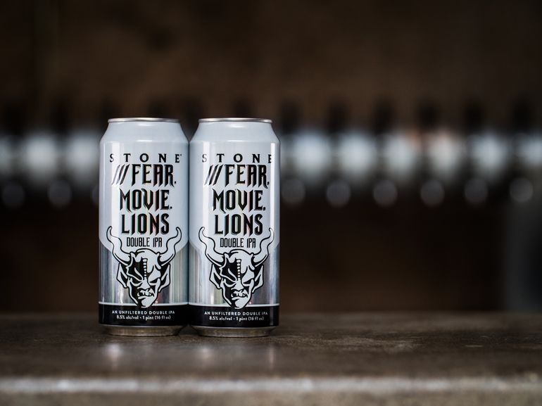 Stone Brewing Co. Debuts ///Fear.Movie.Lions Double IPA in All 50 States