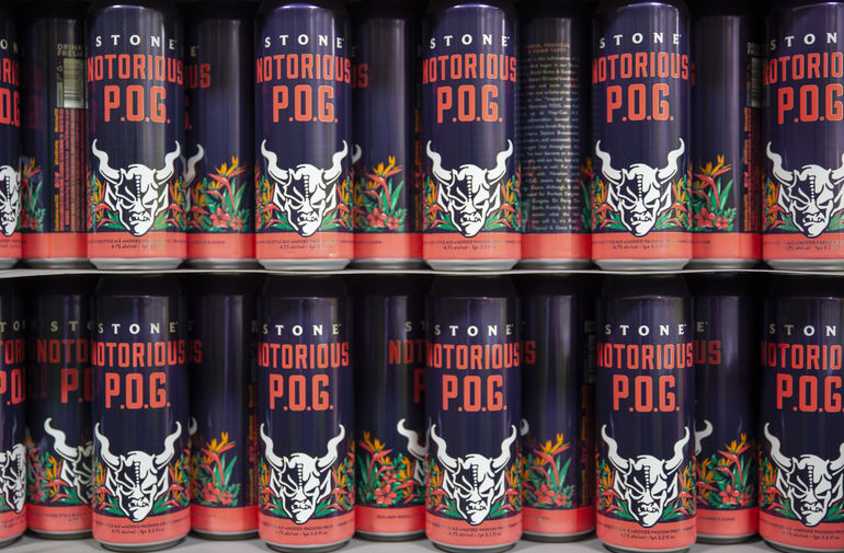 Stone Brewing Co. Rolls Out Notorious P.O.G. Berliner Weisse Nationwide