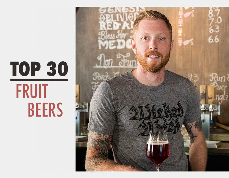 Top 30 Fruit Beers