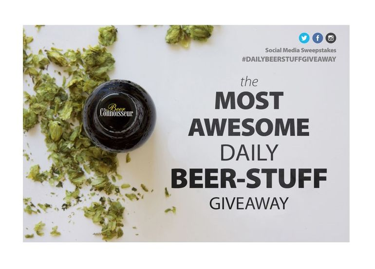 The Beer Connoisseur Announces 'The Most Awesome Daily Beer-Stuff Giveaway' Social Media Sweepstakes