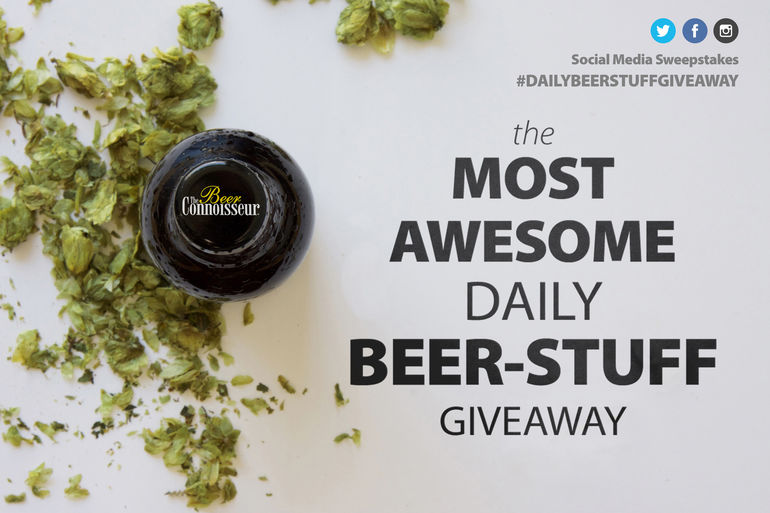 The Most Awesome Daily Beer-Stuff Giveaway