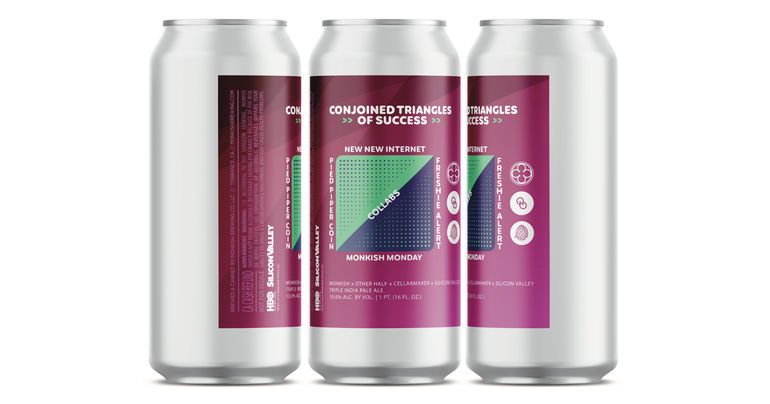 Three Breweries Collaborate with HBO's Silicon Valley on Conjoined Triangles of Success Beer