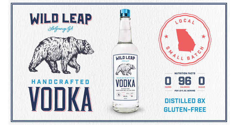 Wild Leap Brew Co. Expands Into Spirits with Wild Leap Vodka
