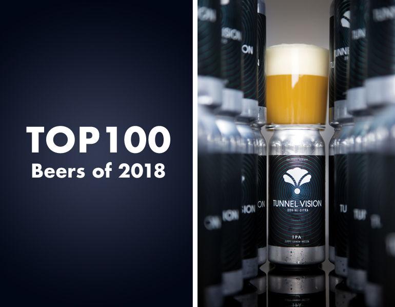 Top 100 Beers of 2018