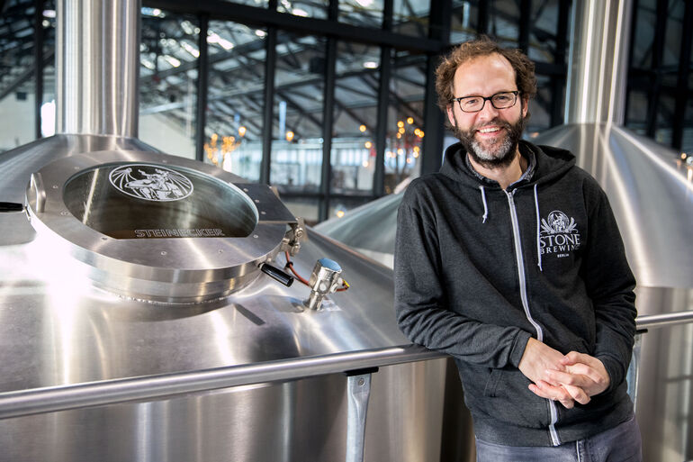 Stone Brewing Berlin Brewmaster Thomas Tyrell