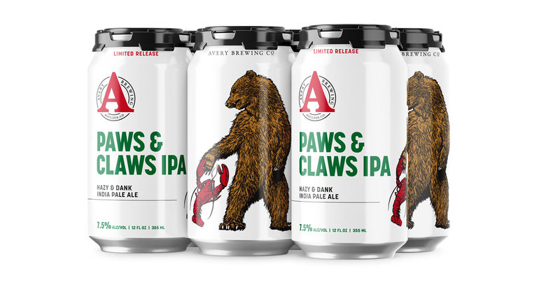 Avery Brewing Co. Announces New Summer Limited Release: Paws & Claws IPA