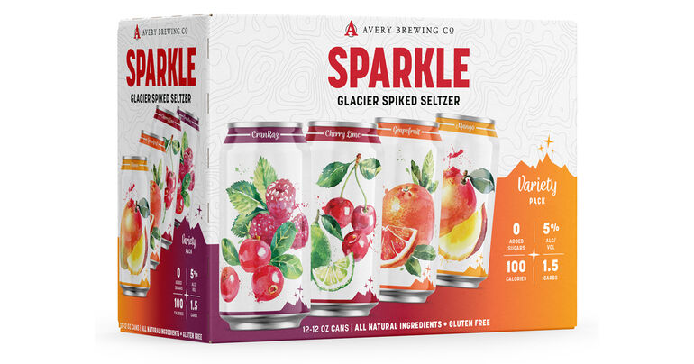 Avery Brewing Co. to Expand Sparkle Hard Seltzer Line in 2021