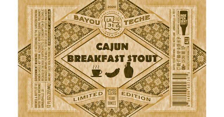 Bayou Teche Brewing Releases Cajun Breakfast Stout