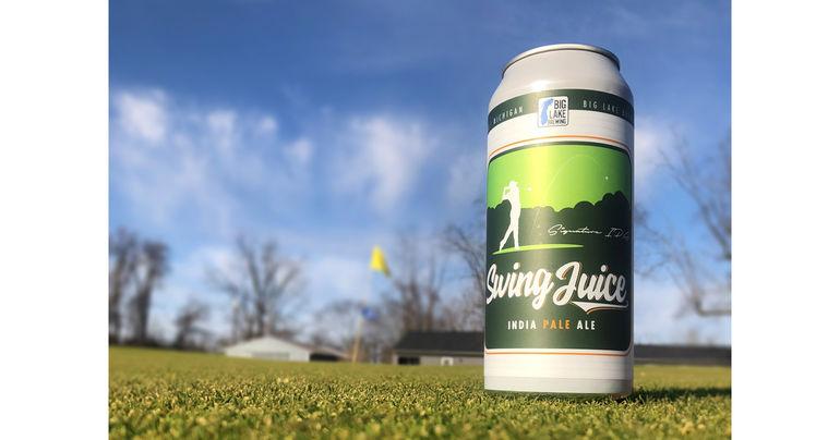 Big Lake Brewing Introduces Swing Juice IPA for Golf Season