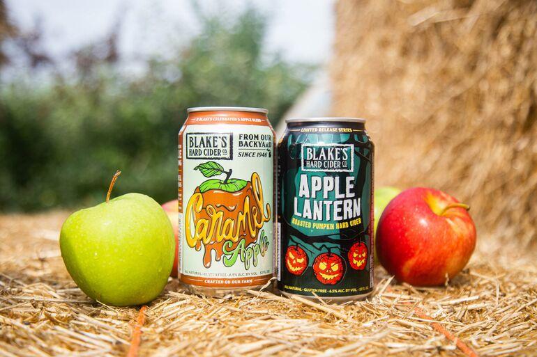 Blake's Hard Cider Adds Caramel Apple and Apple Lantern Flavors to Fall Seasonal Lineup
