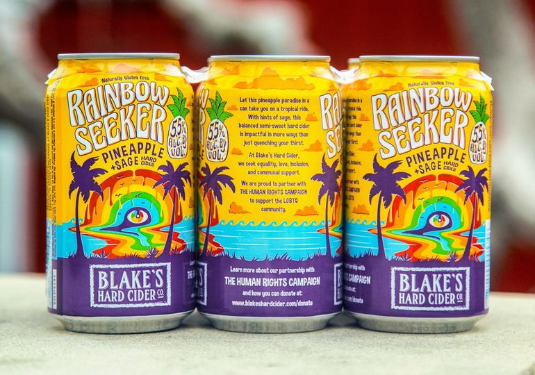 Blake's Hard Cider Rainbow Seeker Returns for Third Year