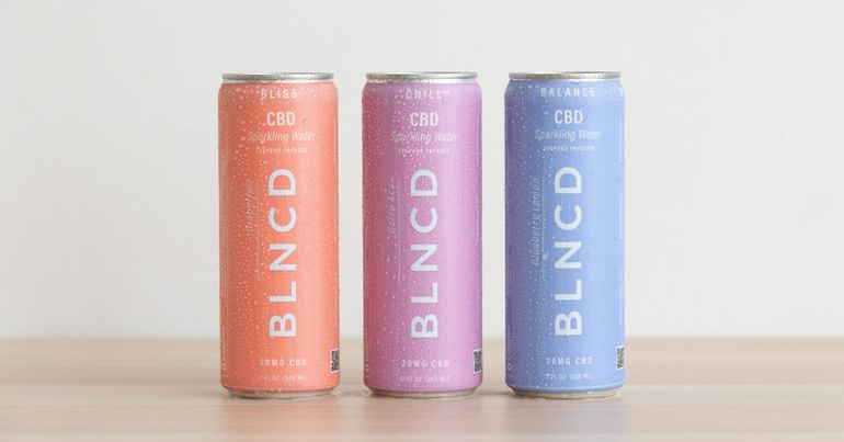 BLNCD Naturals Debuts CBD-Infused Sparkling Water