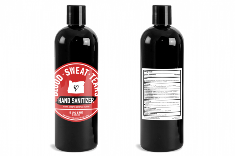 Blood x Sweat x Tears Vodka Makes Hand Sanitizer to Support Grocery Workers