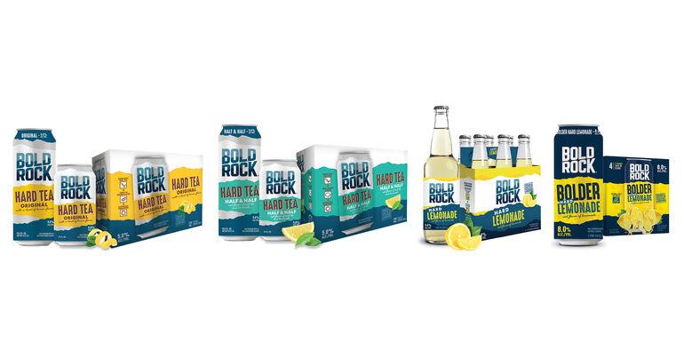 Bold Rock Unveils Craft Hard Tea and Hard Lemonade