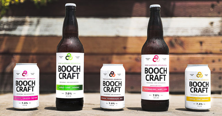 Boochcraft Brightens Up the Pacific Northwest, One Booch at a Time