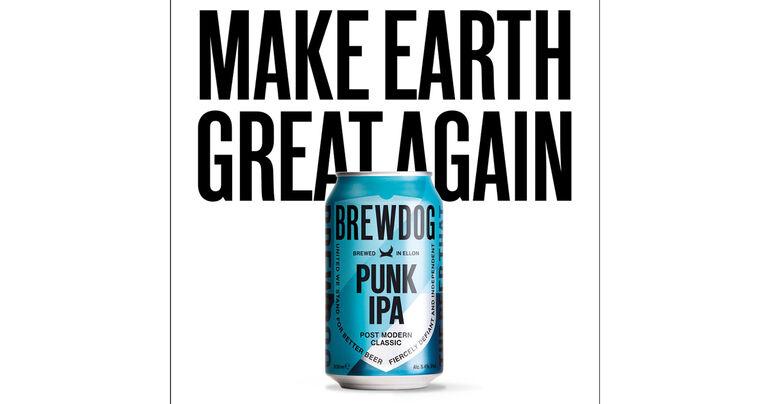 BrewDog Becomes World's First Carbon-Negative International Beer Business