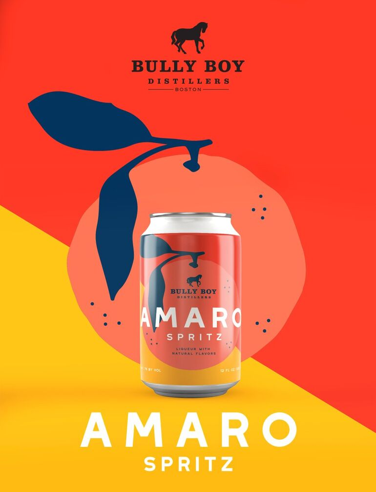 Bully Boy Distillers Expands Portfolio With New Canned Amaro Spritz