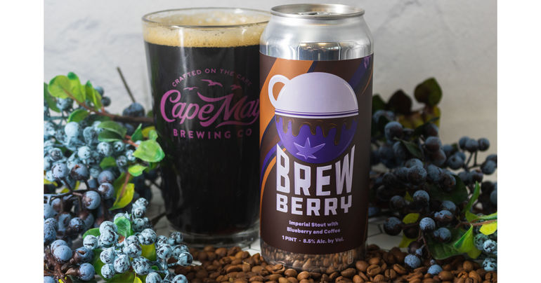 Cape May Brewing Co. and Night Shift Brewing Release Brewberry Imperial Stout